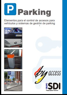 Catálogo digital de control de accesos para parking